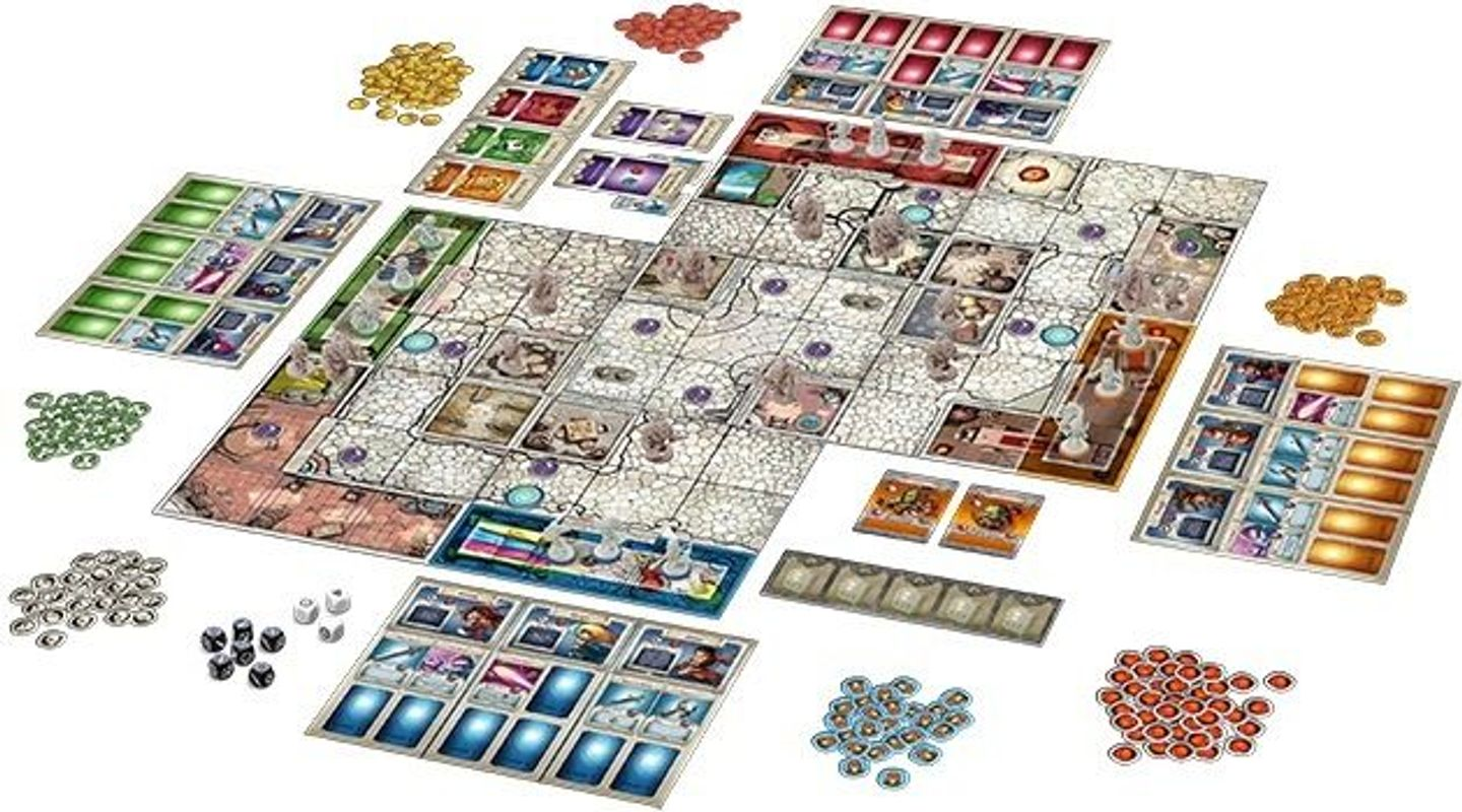 Arcadia Quest composants