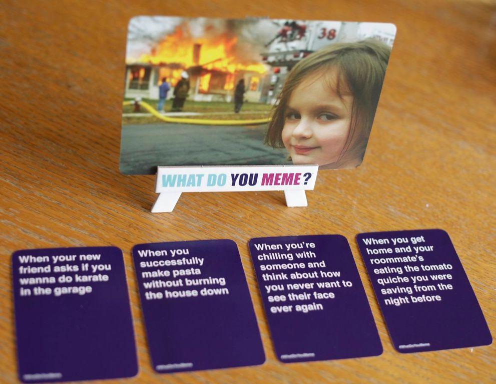 What Do You Meme?: A Millennial Card Game For Millennials And Their Millennial Friends cards