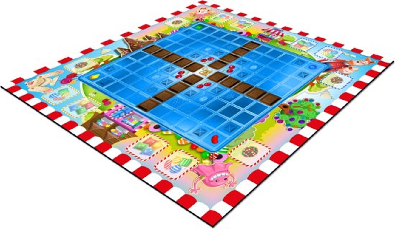 Candy Crush: The Boardgame game board