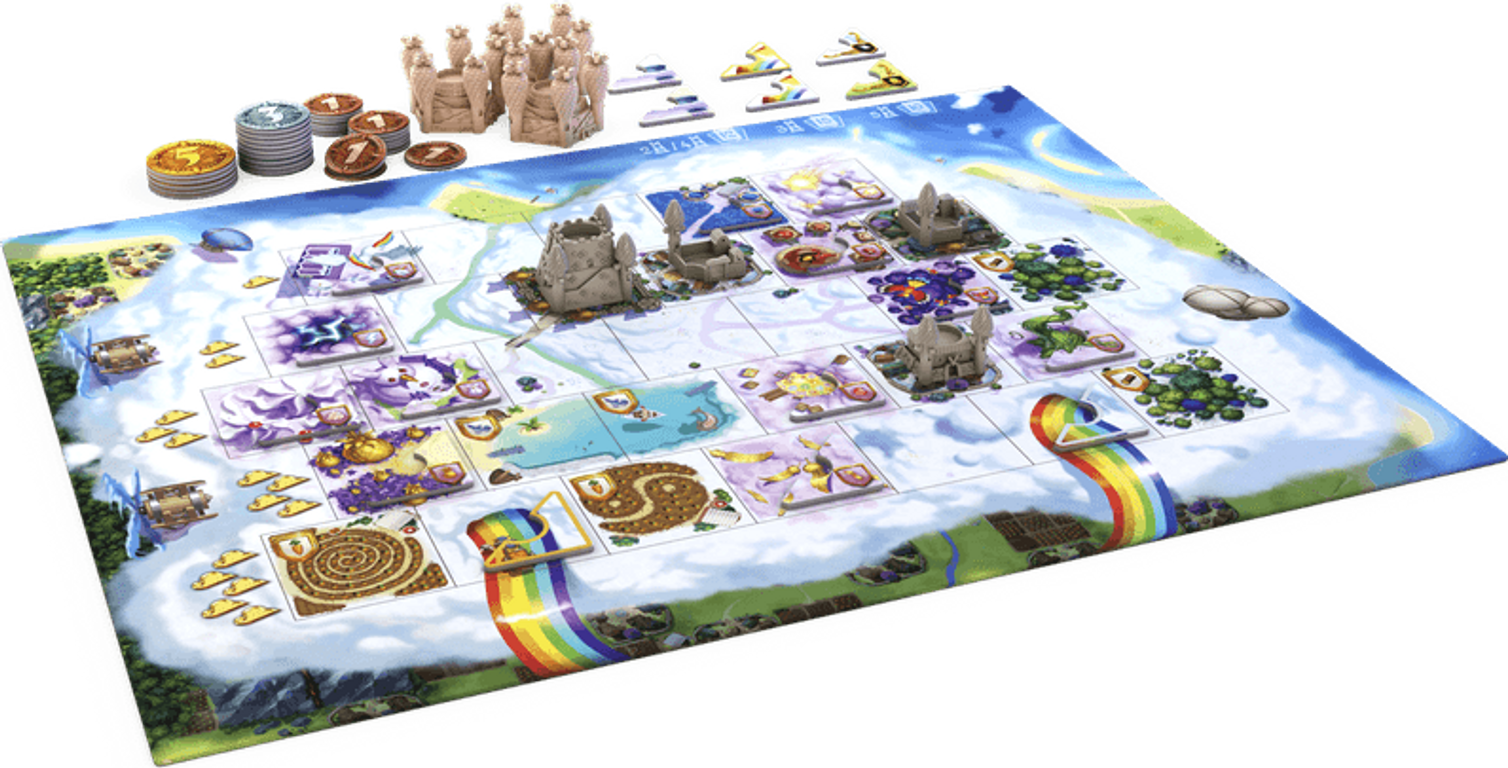 Bunny Kingdom: In the Sky components