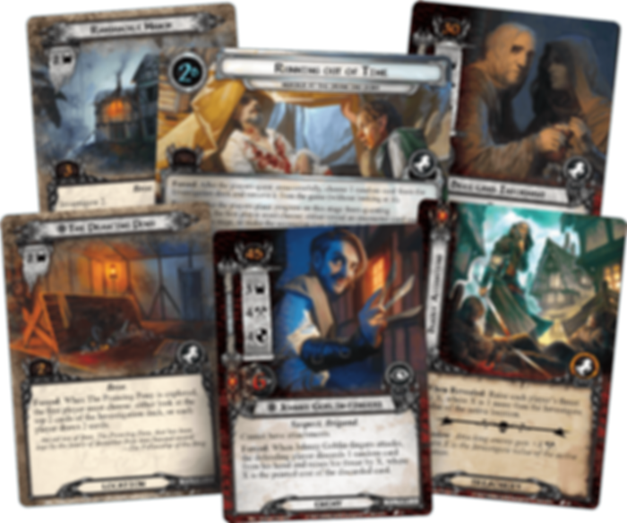 The Lord of the Rings: The Card Game - Murder at the Prancing Pony cards