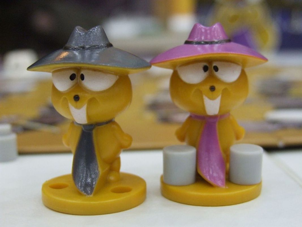 Lemming Maffia miniatures
