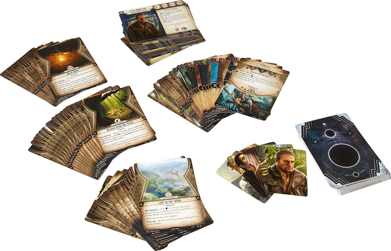 Arkham Horror: The Card Game - The Forgotten Age: Expansion cards