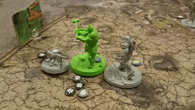 Fallout: Wasteland Warfare miniature