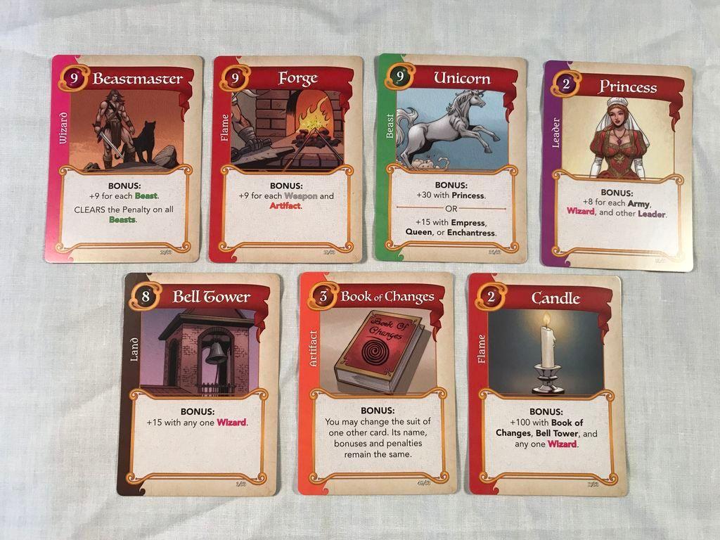 Fantasy Realms carte