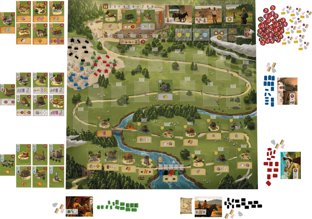 Caylus 1303 components