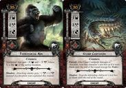 The Lord of the Rings: The Card Game - The Mûmakil cards