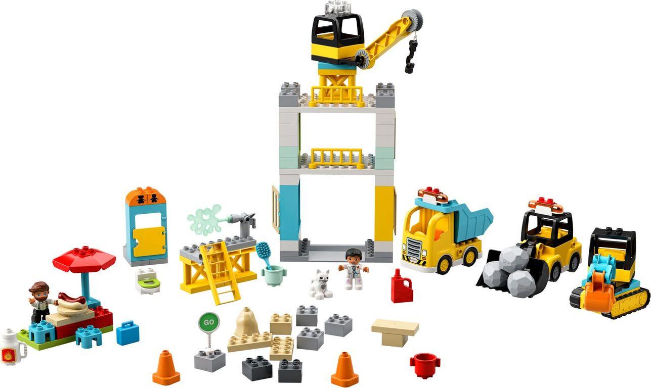 Tower Crane & Construction components