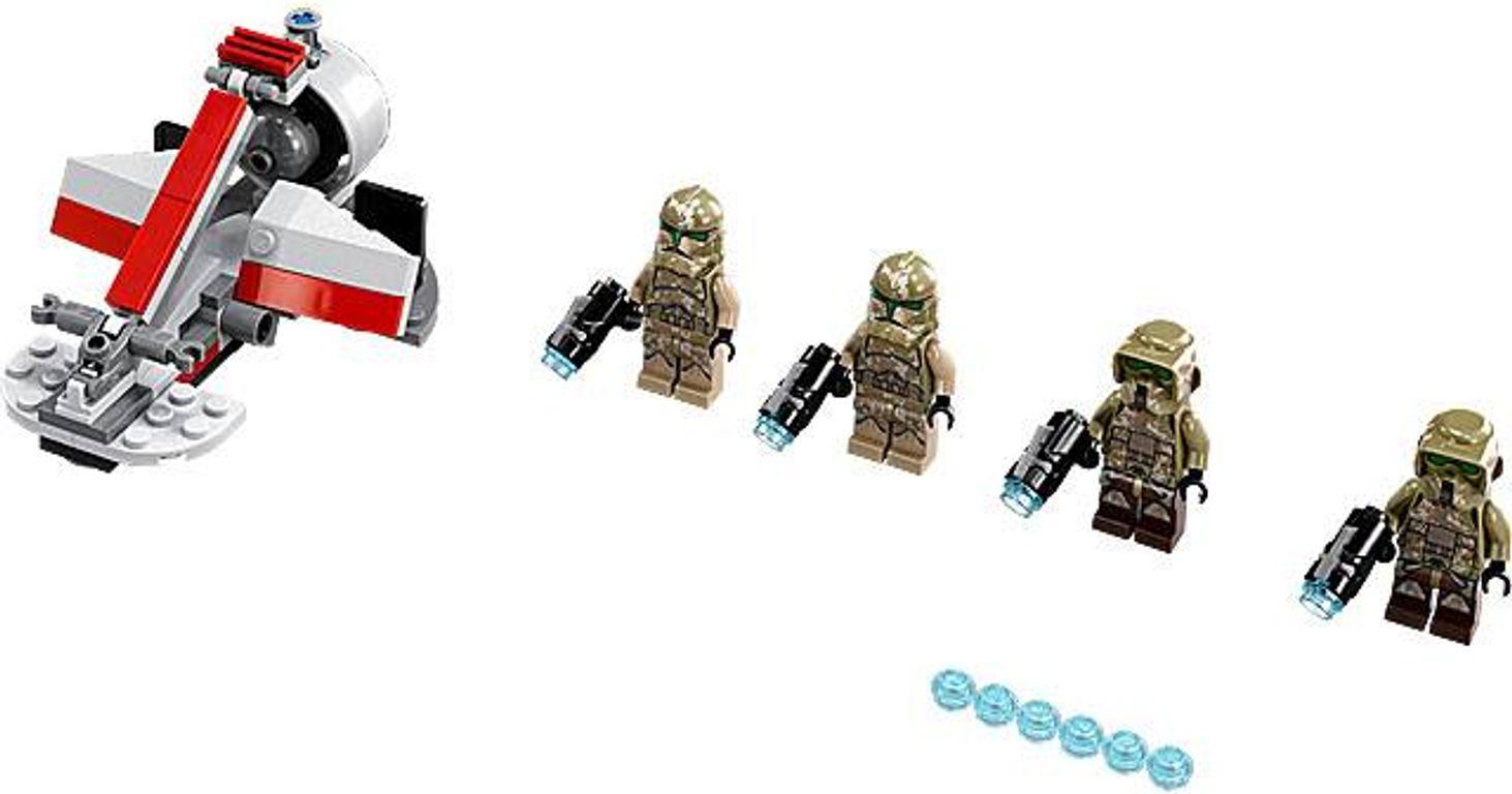 LEGO® Star Wars Kashyyyk Troopers components