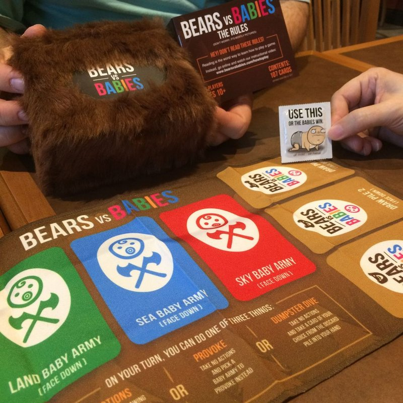 Bears vs Babies cards
