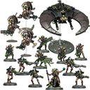 Warhammer 40k - Necrons - Combat Patrol miniatures