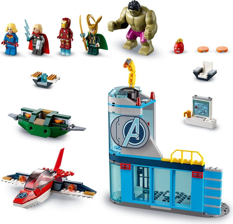 LEGO® Marvel Avengers Wrath of Loki components