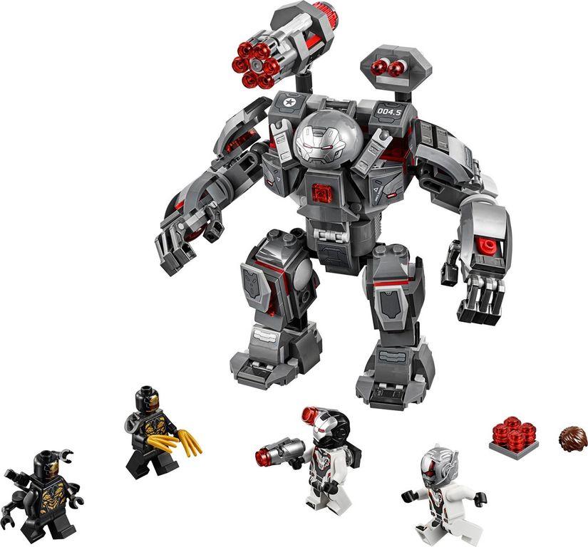 LEGO® Marvel War Machine Buster components