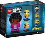 LEGO® BrickHeadz™ Belle Bottom, Kevin and Bob back of the box
