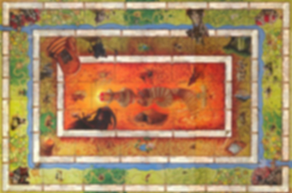 Talisman (Revised 4th Edition) game board