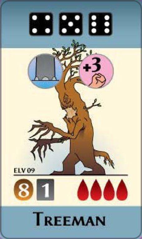 Pocket Battles: Elves vs. Orcs cards