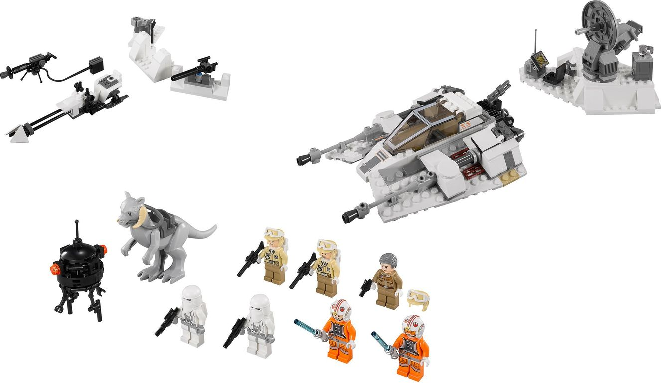 LEGO® Star Wars Battle of Hoth components