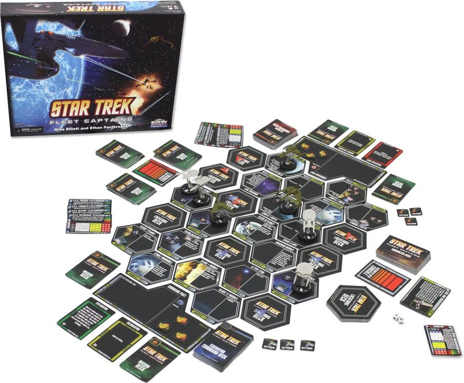 Star Trek: Fleet Captains components