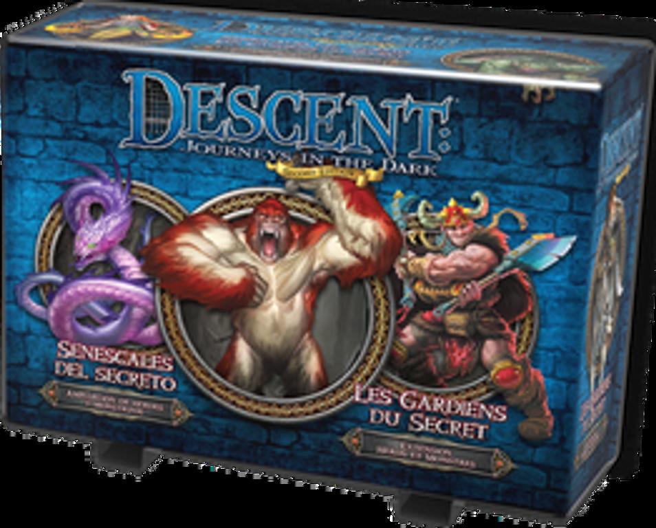 Descent: Viaje a las Tinieblas (Segunda Edición) - Senescales del secreto