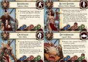 BattleLore (Second Edition): Warband of Scorn Army Pack cards
