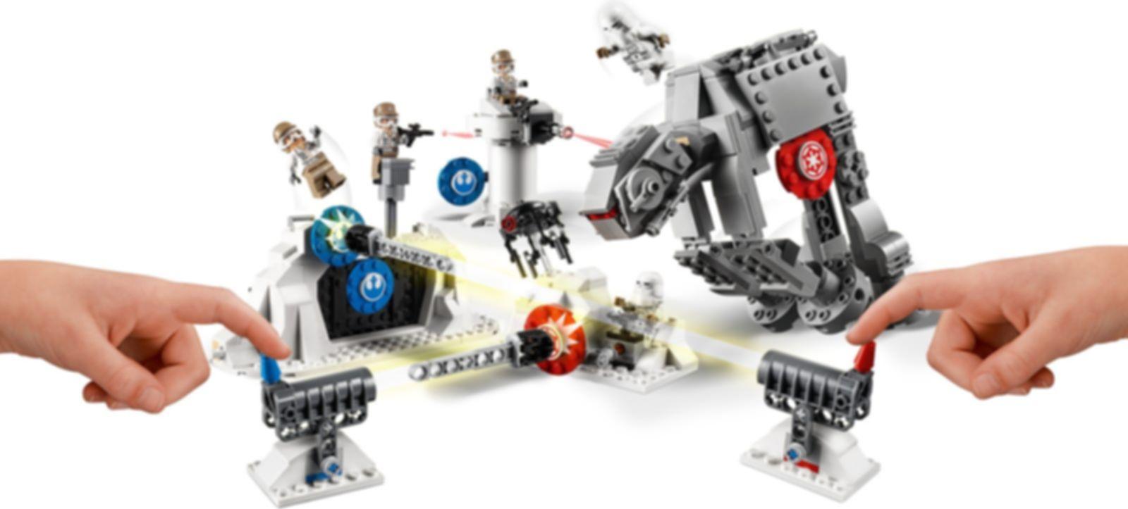 LEGO® Star Wars Action Battle Echo Base™ Defense gameplay