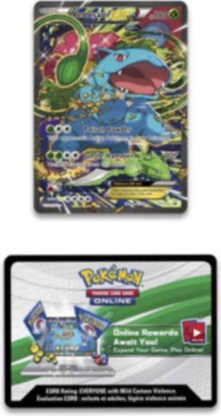 Pokémon 20th Anniversary Red & Blue Collection - Venusaur-EX cards