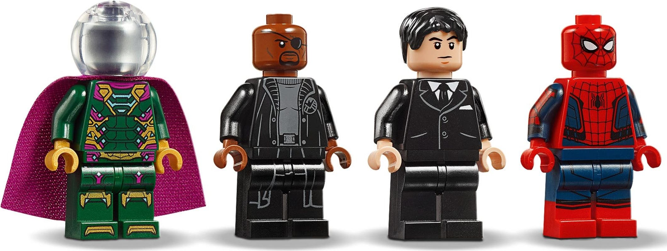 Stark Jet and the Drone Attack minifigures