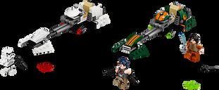 LEGO® Star Wars Ezra's Speeder Bike components