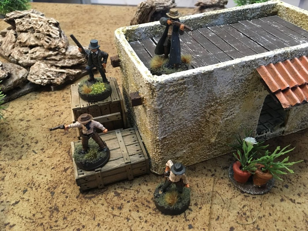 Dracula's America: Shadows of the West miniatures