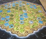 Lords of Creation game board