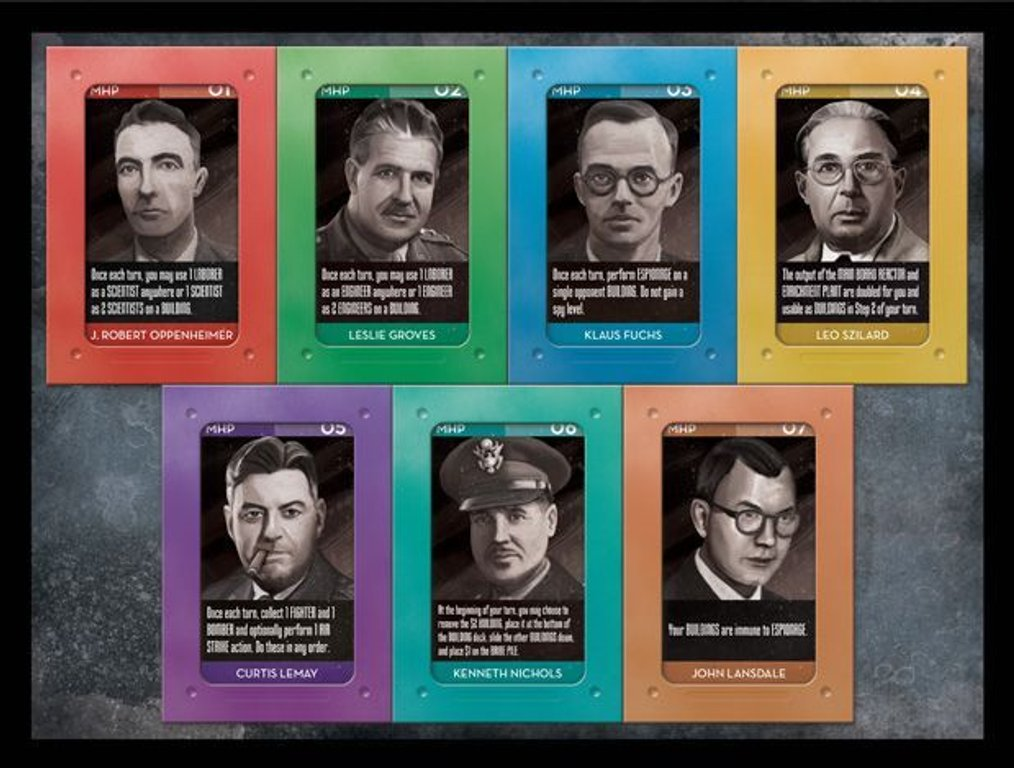 The Manhattan Project: Second Stage cards