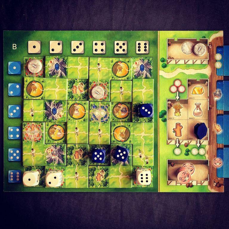 Santa Maria game board