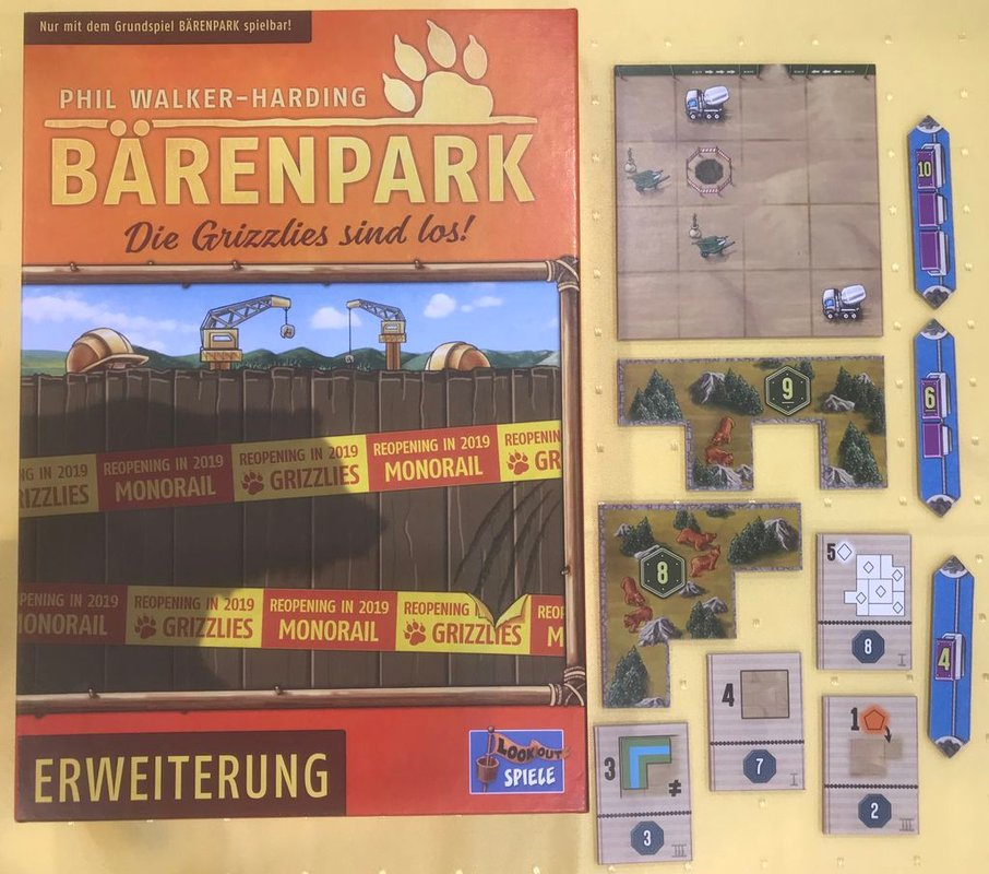 Bärenpark: The Bad News Bears components