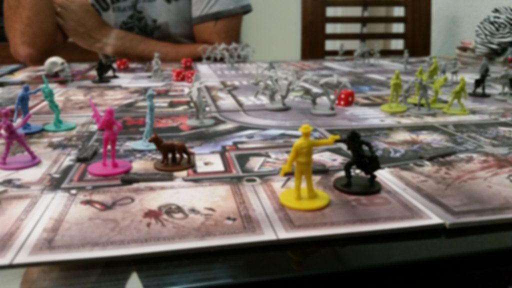 Zombicide: Angry Neighbors gameplay