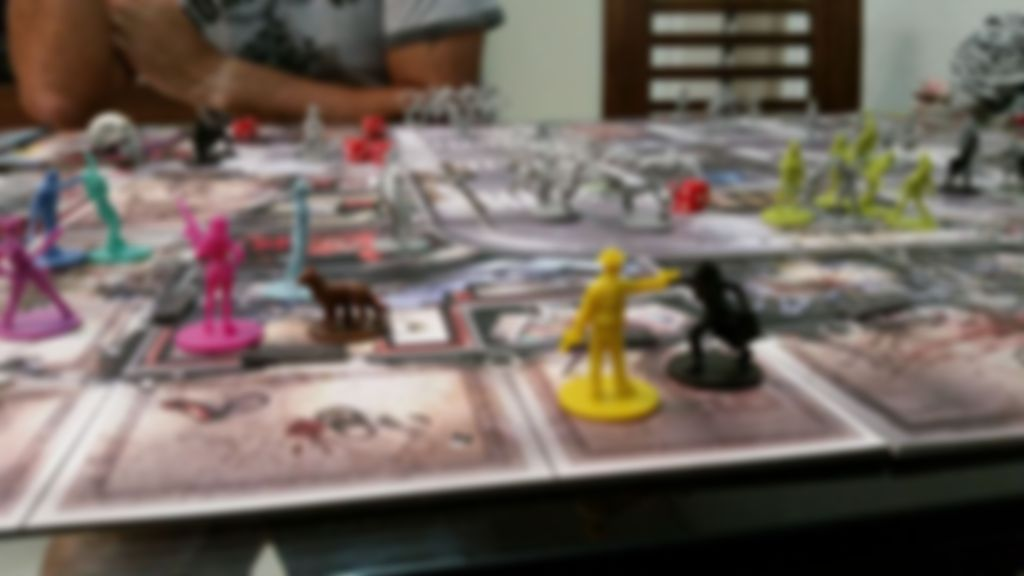 Zombicide: Angry Neighbors gameplay