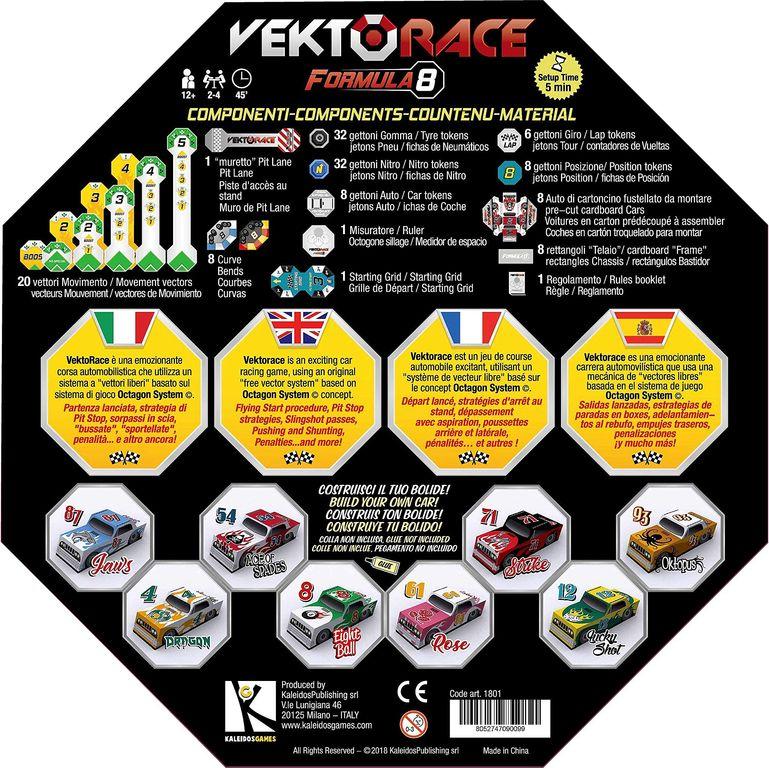VektoRace back of the box