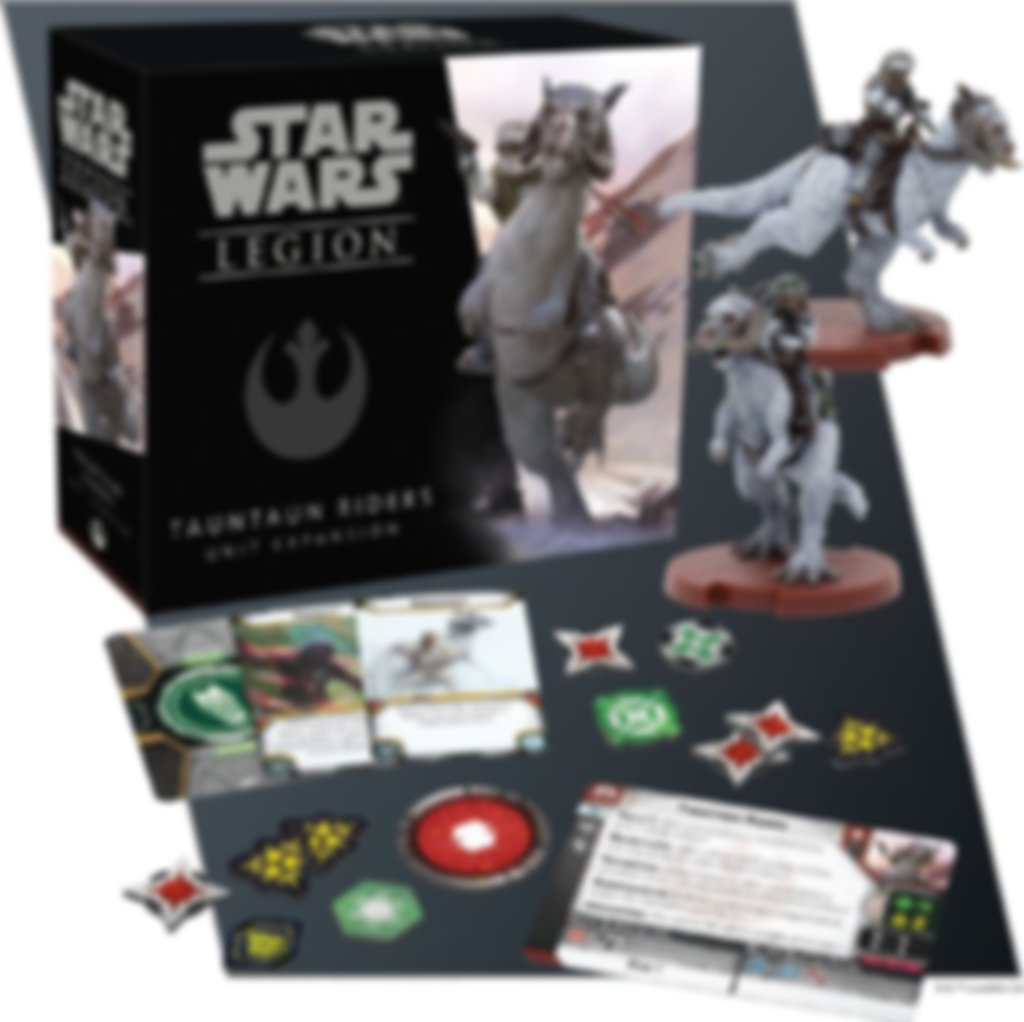 Star Wars: Legion - Tauntaun Riders Unit Expansion components
