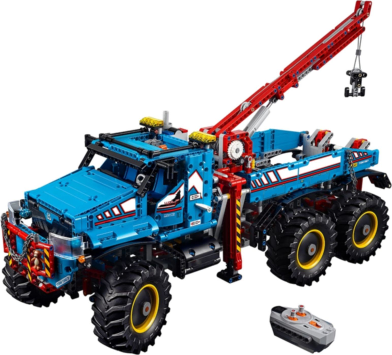 6x6 All Terrain Tow Truck components