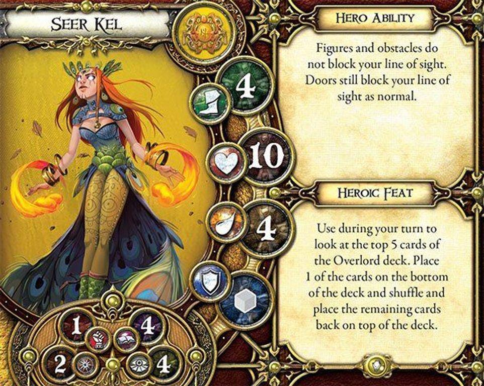 Descent: Voyage dans les ténèbres (Seconde Edition) - Les gardiens du secret cartes