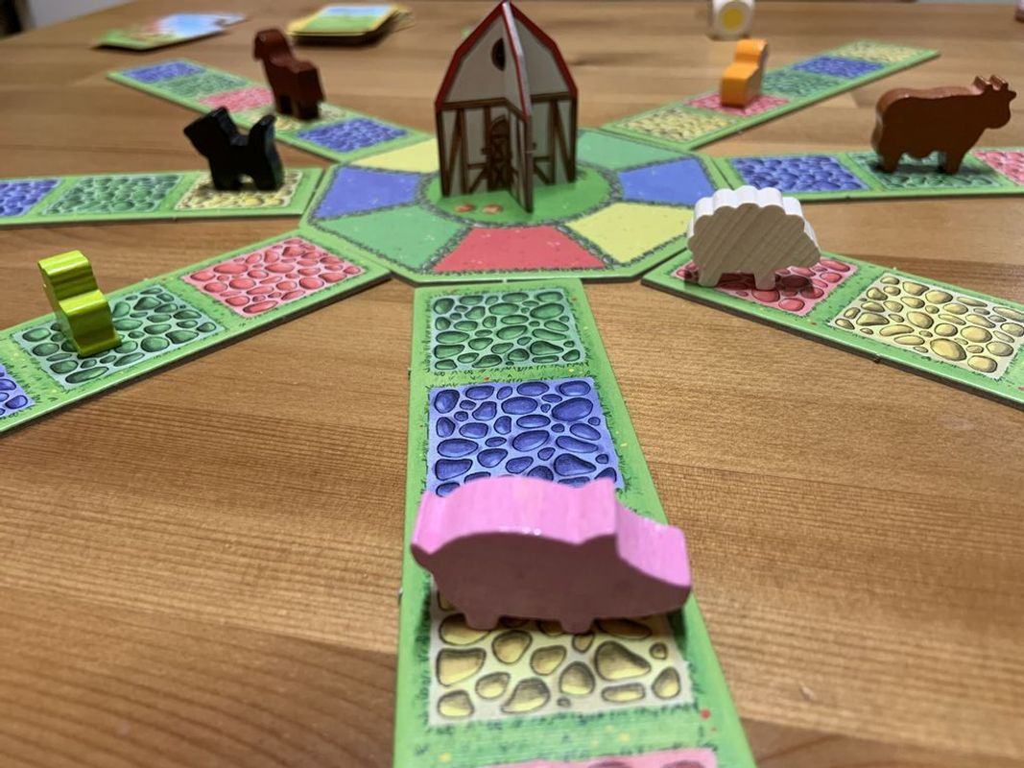 Barnyard Bunch gameplay