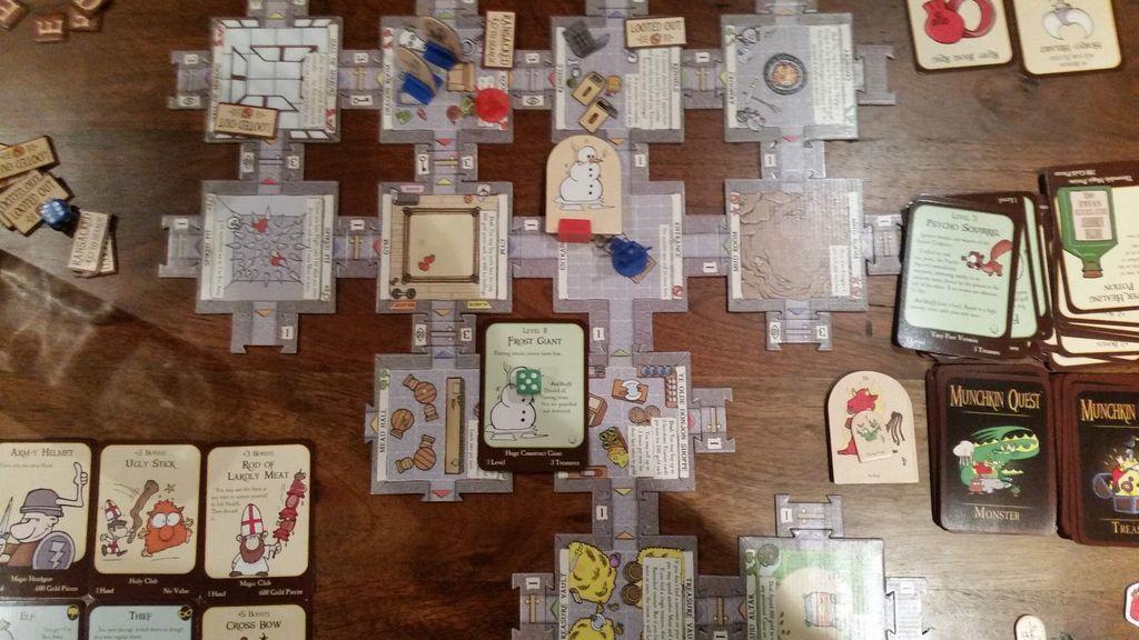 Munchkin Quest gameplay