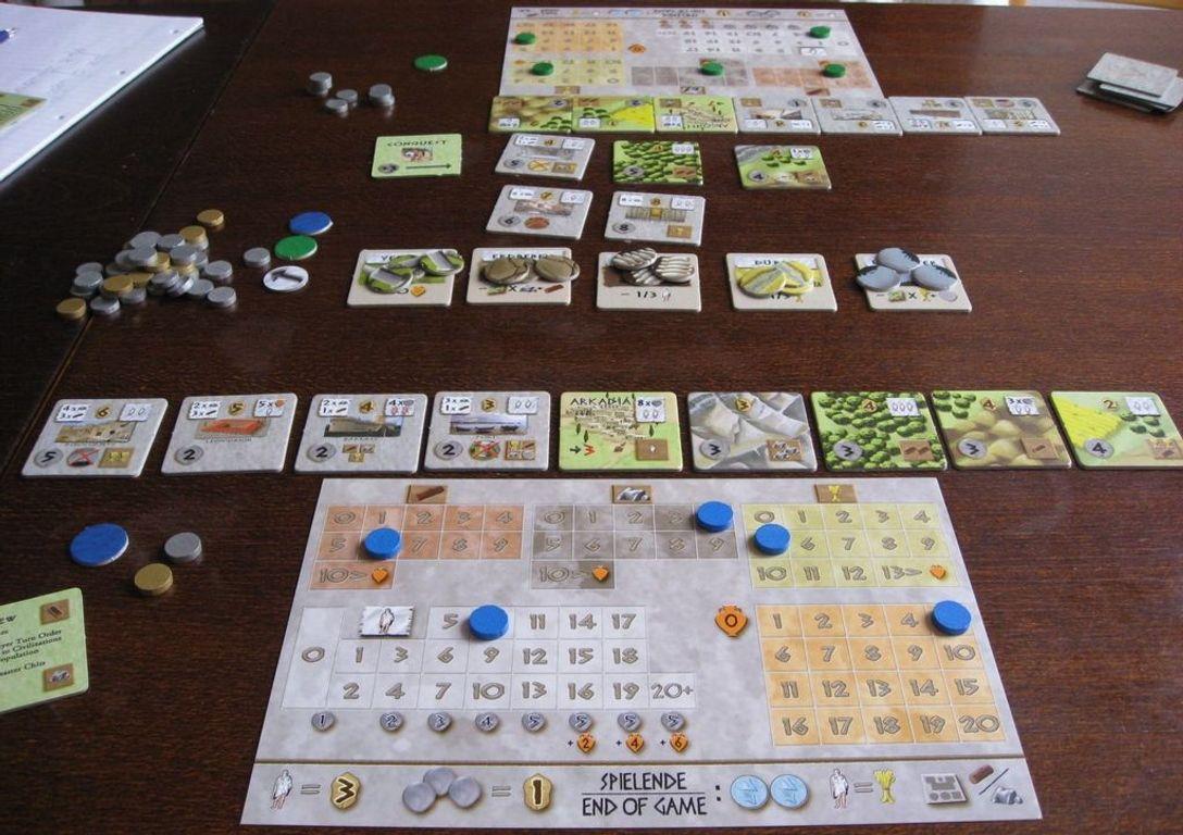 Peloponnes gameplay