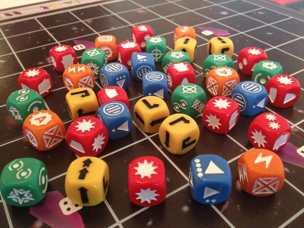 Space Cadets: Dice Duel dice