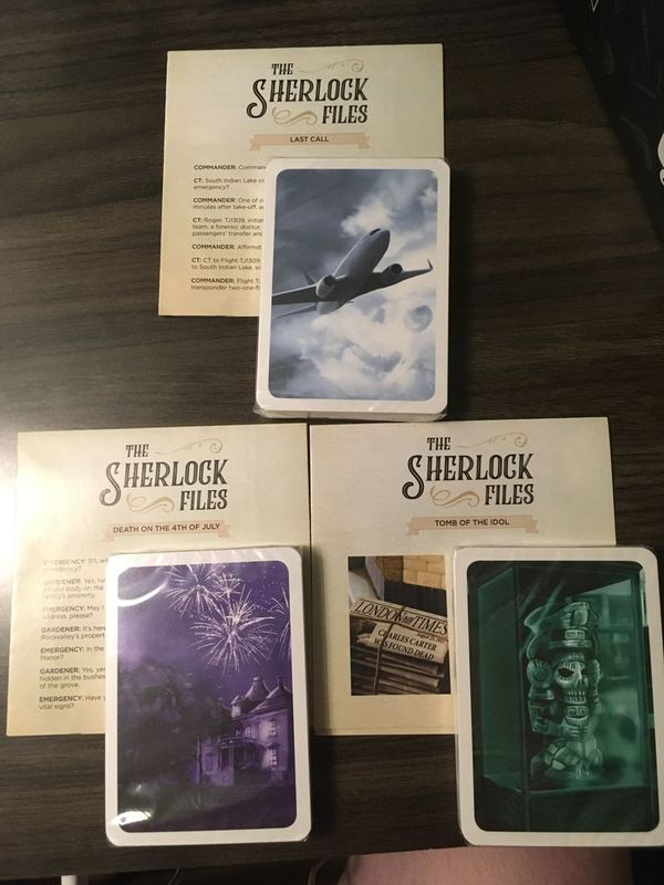 The Sherlock Files: Elementary Entries cards