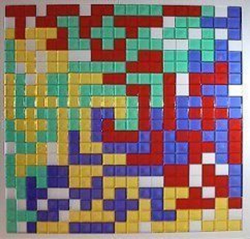 Blokus components