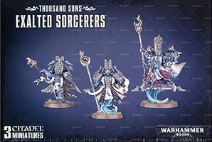 Warhammer 40,000 Chaos Heretic Astartes Thousand Sons: Exalted Sorcerers