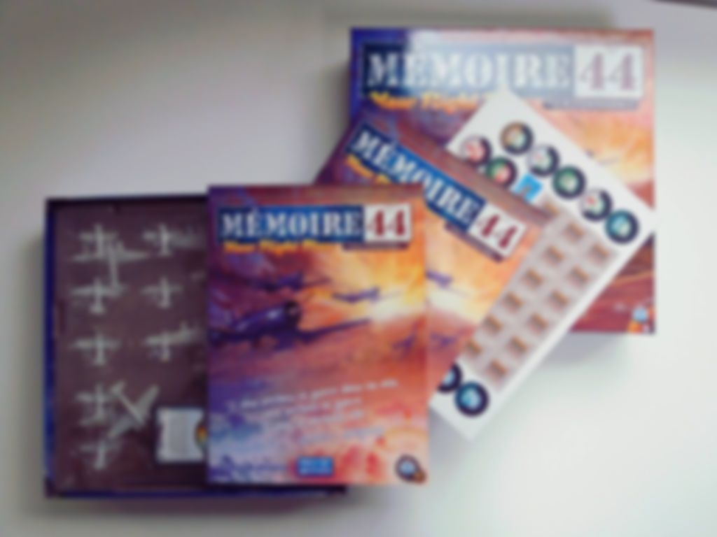 Memoir '44 New Flight Plan components