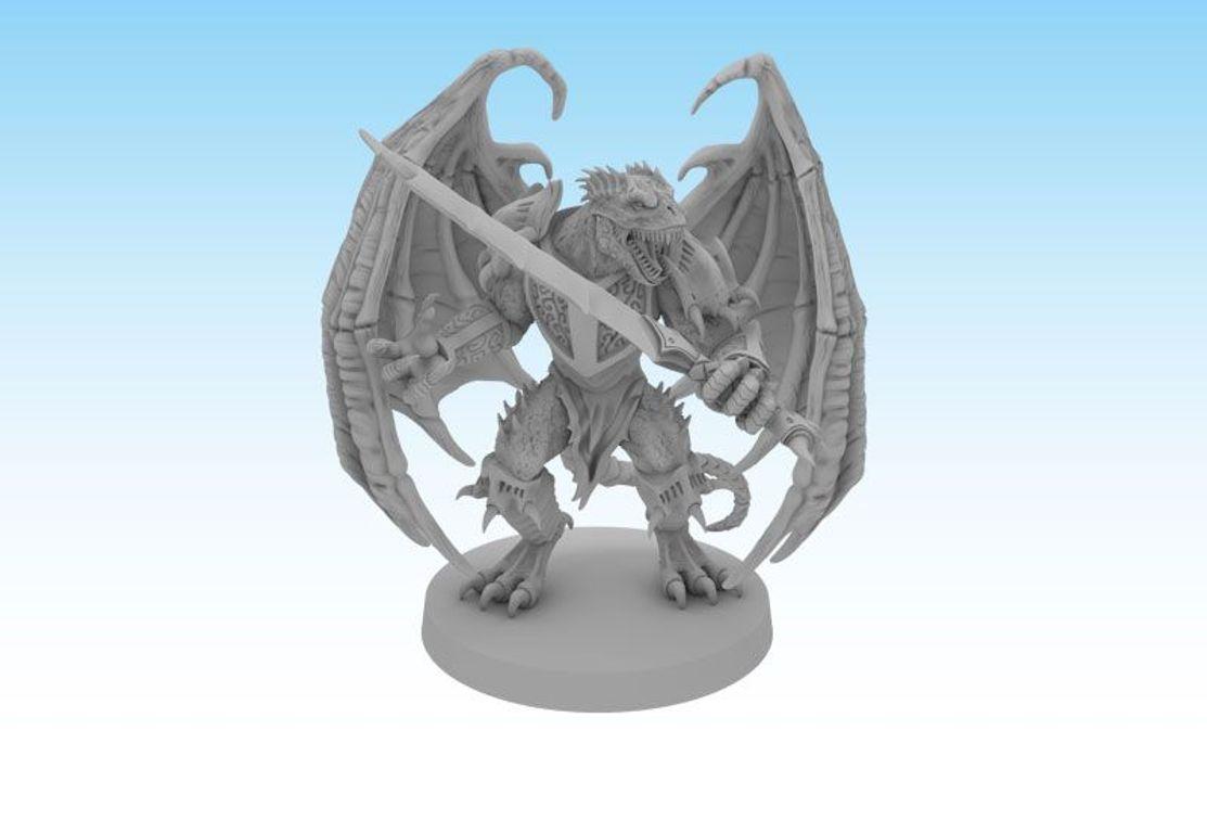 Sword & Sorcery: Hero Pack - Volkor Dragonheart/Dragonflame miniatures