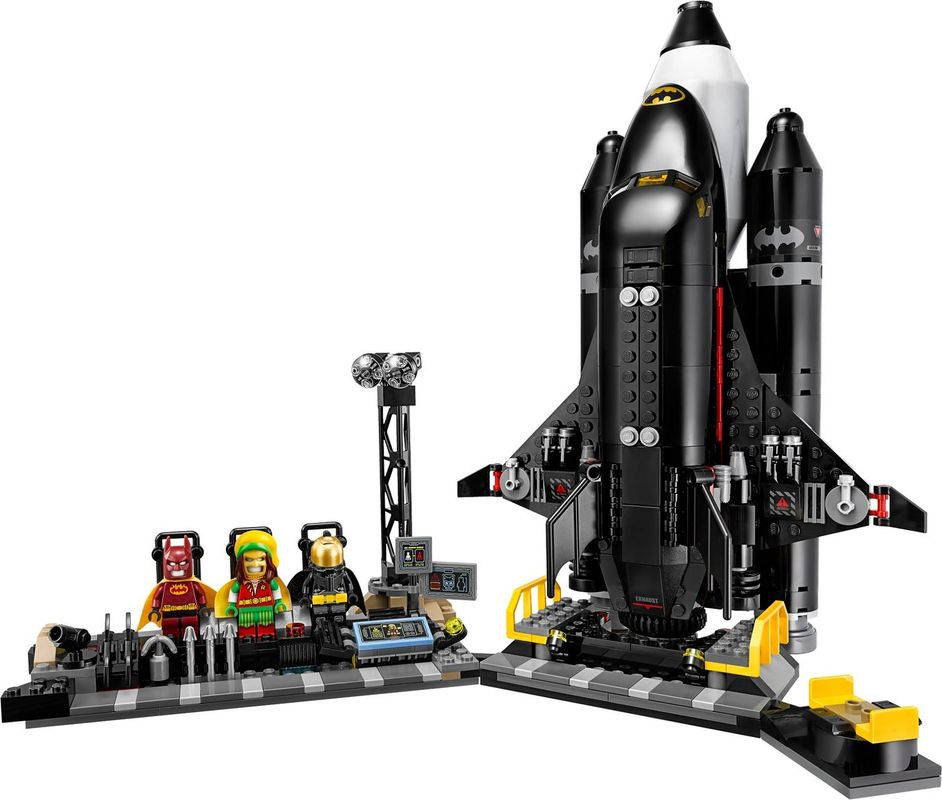 The Bat-Space Shuttle components