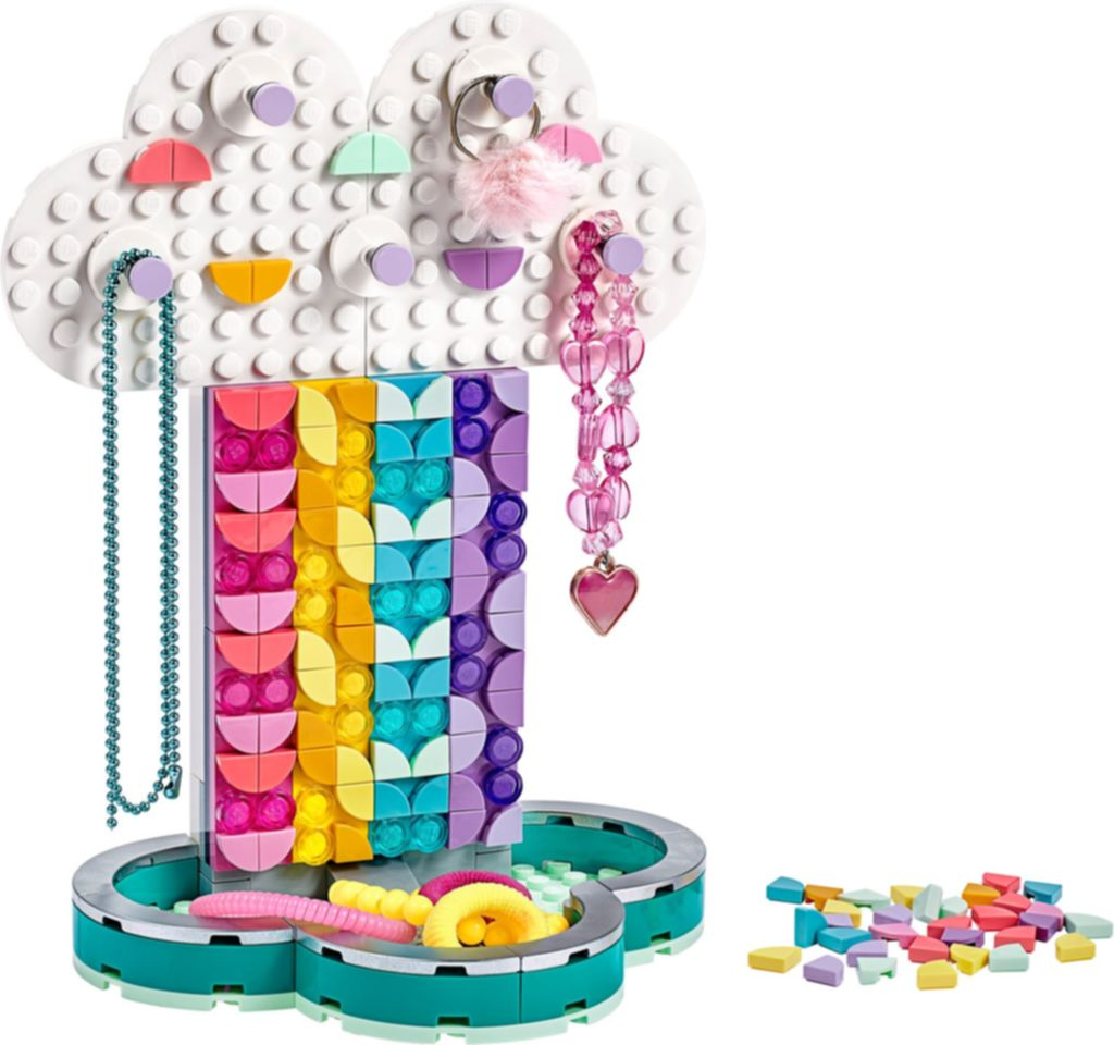 Rainbow Jewelry Stand components